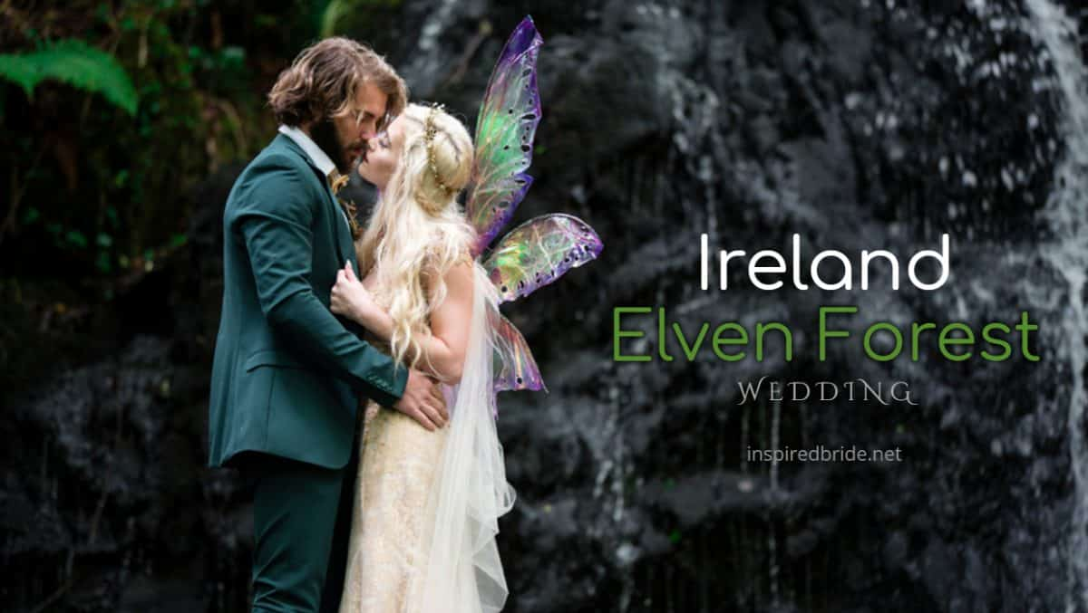 Ireland Elven Forest Wedding