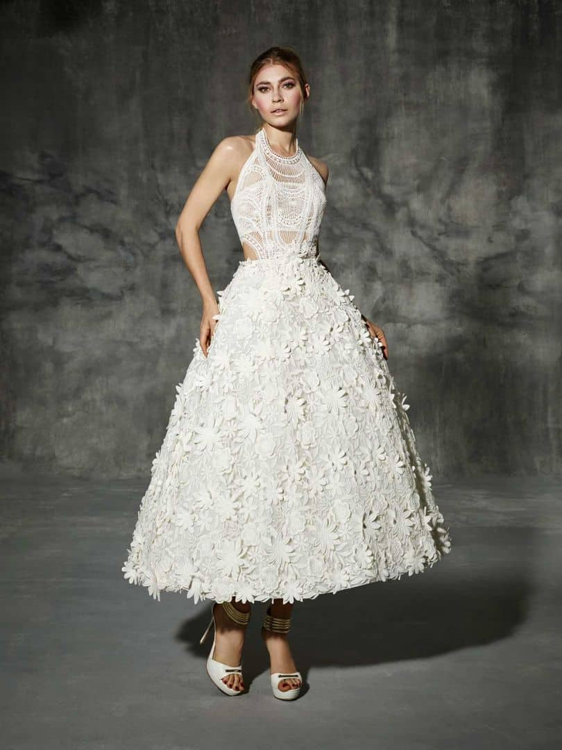 10 Stunning Tea Length Wedding Dresses For 2018