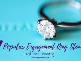 Engagement ring stones