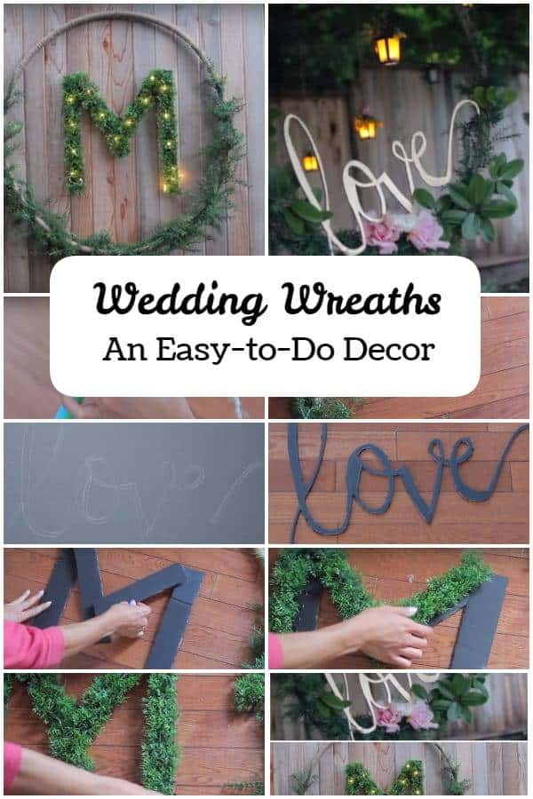 DIY Wedding Wreaths – Pretty Sights on Your Wedding Day