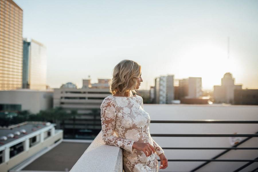 Modern and Stylish Bridal Session