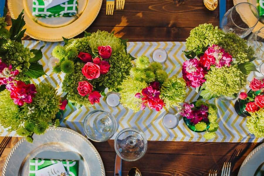Outdoor Stylishly & Chic Wedding Décor
