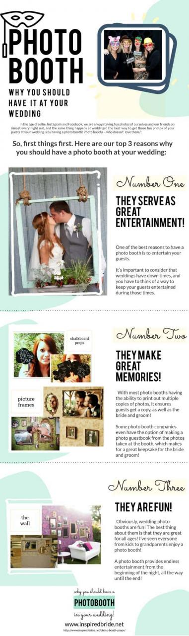 Why You Should Have A Photo Booth At Your Wedding The Inspired Bride