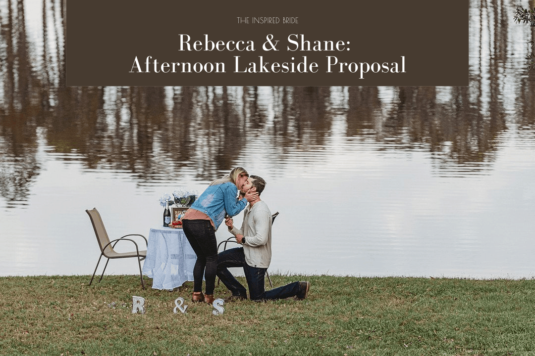 Lakeside Wedding Proposal