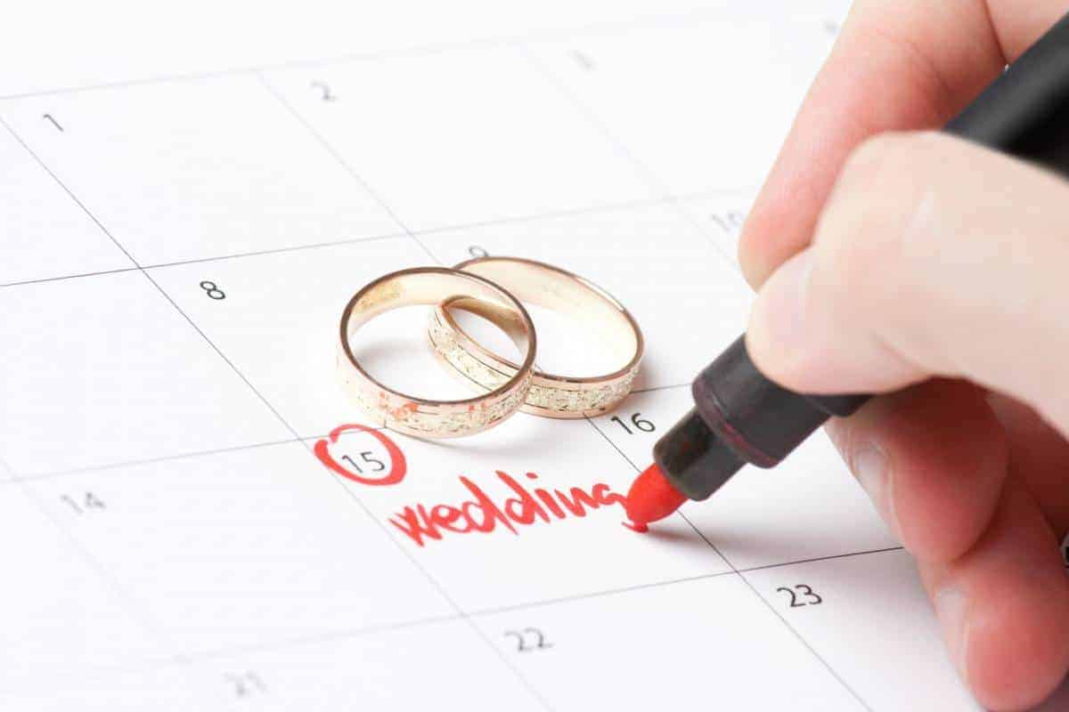 Wedding Dates to Avoid in 2017