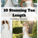 10 Stunning Tea Length Wedding Dresses For 2019
