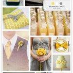Color Palette: Golden Rod, White, and Gray