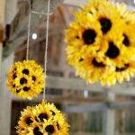 DIY Sunflower Flower Balls